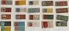 Гербы на прямоугольнике - полный комплект (22 шт)(номер серии - 020)