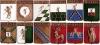 Комплект значков «Гербы городов Ярославской губернии» (12 штук) (Ярославская)