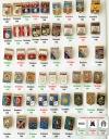 Мытищинская современная (код серии 056) - полный комплект (50 шт) - все типы клейм и все разнокрасы