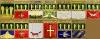 Комплект значков «Гербы городов Пензенской губерния» (13 штук) (Пенза)